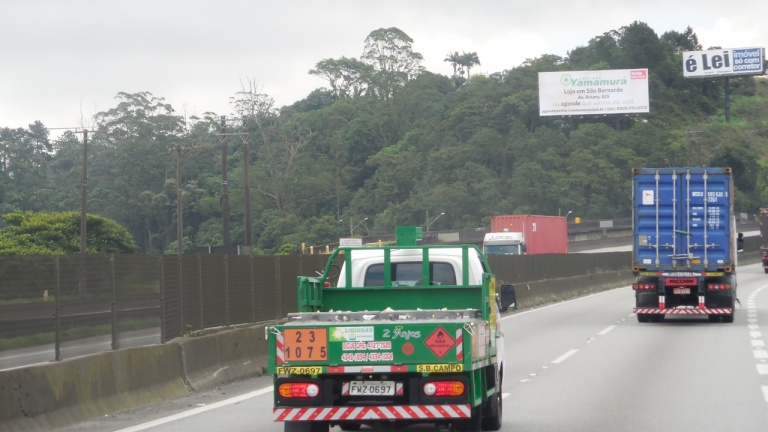 Rodovia Anchieta, Km 28 - Sentido São Paulo